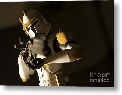 Clone Trooper 1 Metal Print by Micah May