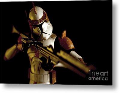 Clone Trooper 2 Metal Print by Micah May