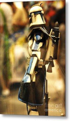 Clone Trooper Metal Print by Micah May