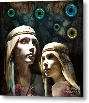 Cloned Dreams Metal Print