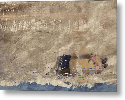 Close To Shore Metal Print by Carol Leigh