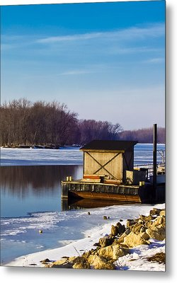 Closed For The Season Metal Print by Christi Kraft