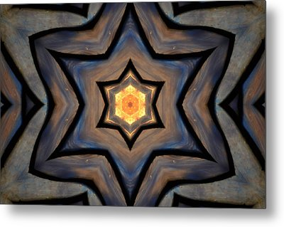 Closed Up Open Up Metal Print by Chad Wasden
