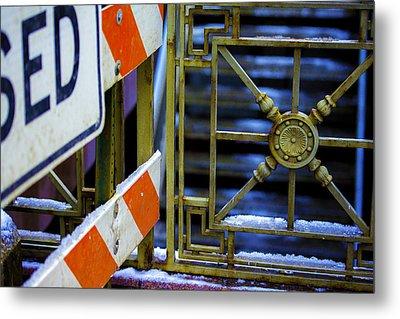 Closed Walkway Metal Print by Raymond Kunst