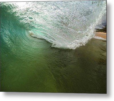 Closeout Wave Metal Print by Brad Scott