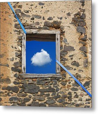 Cloud Metal Print by Bernard Jaubert
