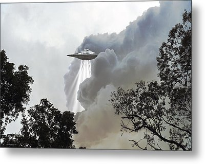Cloud Cover Metal Print by Brian Wallace