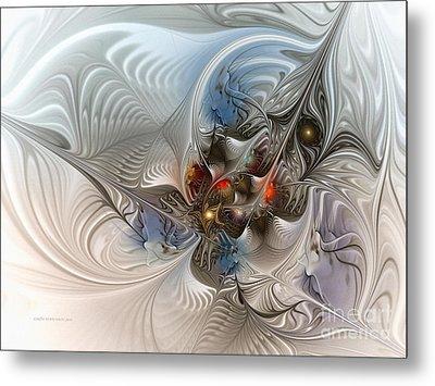 Cloud Cuckoo Land-fractal Art Metal Print