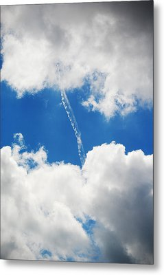 Cloud Fill Metal Print by Diaae Bakri