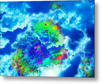 Cloud Genesis Metal Print by Colleen Cannon