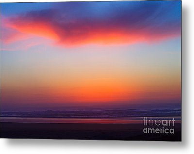 Cloud Hold The Sun Metal Print by Adria Trail