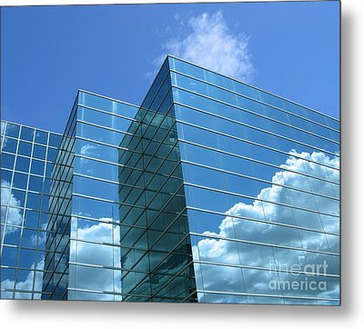 Metal Print featuring the photograph Cloud Mirror by Ann Horn