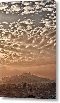 Cloud Over Kathmandu Metal Print