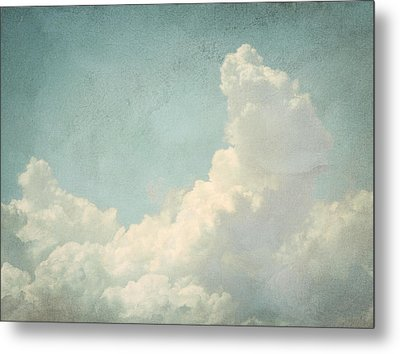 Cloud Series 4 Of 6 Metal Print by Brett Pfister