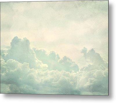 Cloud Series 5 Of 6 Metal Print by Brett Pfister
