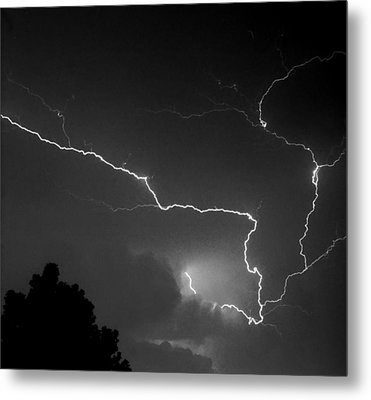Cloud To Cloud Discharge IIi. Metal Print by Chris  Kusik