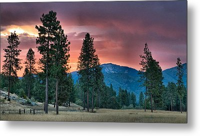Metal Print featuring the photograph Clouded Sunrise by Julia Hassett