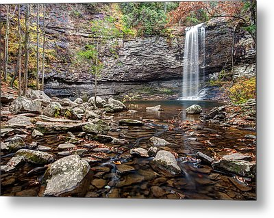 Cloudland Canyon Falls Metal Print by Scott Moore