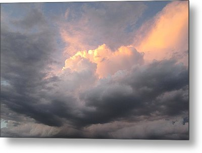 Clouds And God Metal Print by Cathy Long