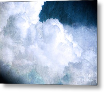 Clouds And Ice Metal Print