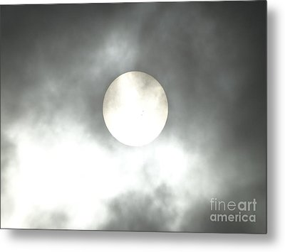 Clouds Are Moving Fast  Metal Print
