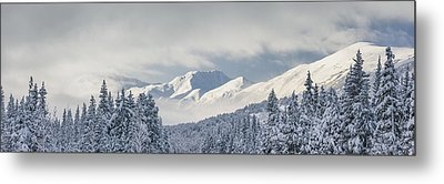 Clouds Clearing From The Kenai Metal Print by Kevin Smith