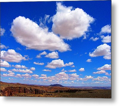 Clouds Metal Print by Julia Ivanovna Willhite