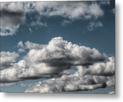 Metal Print featuring the photograph Clouds by Leif Sohlman