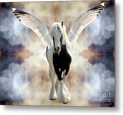 Clouds Of Glory Metal Print by Judy Wood