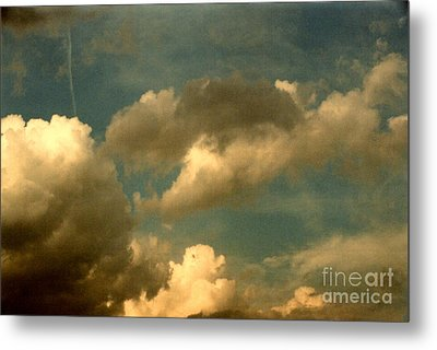 Clouds Of Yesterday Metal Print by Anita Lewis