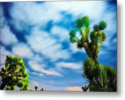 Metal Print featuring the photograph Clouds On The Move by Angela J Wright