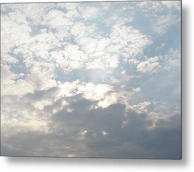 Clouds One Metal Print