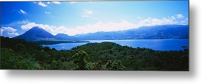 Clouds Over A Volcano, Arenal Volcano Metal Print