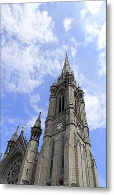 Clouds Over Cathedral Metal Print