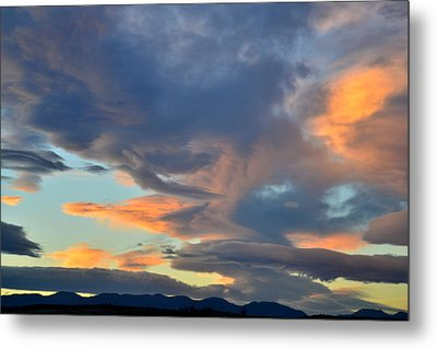 Clouds Over Colorado Metal Print by Ray Mathis