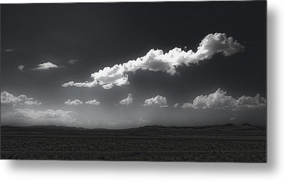 Clouds Over Fallon Nevada Metal Print by Gregory Dyer