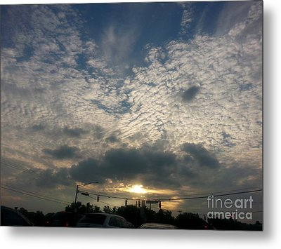 Metal Print featuring the photograph Clouds Over Maryland by Emmy Marie Vickers