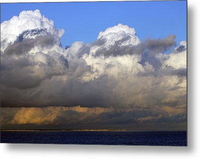 Clouds Over Portsmouth Metal Print