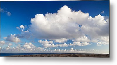 Clouds Over The Sea, Maspalomas, Grand Metal Print by Panoramic Images