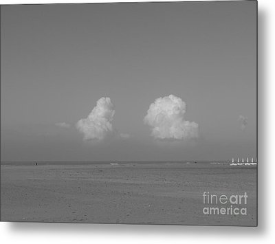 Clouds Over The Sea Metal Print