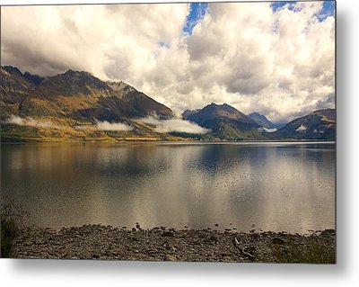 Metal Print featuring the photograph Clouds Over Wakatipu #1 by Stuart Litoff