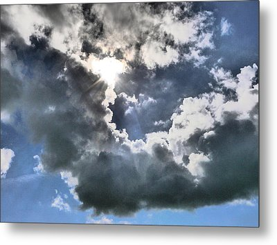 Metal Print featuring the photograph Clouds by Winifred Butler