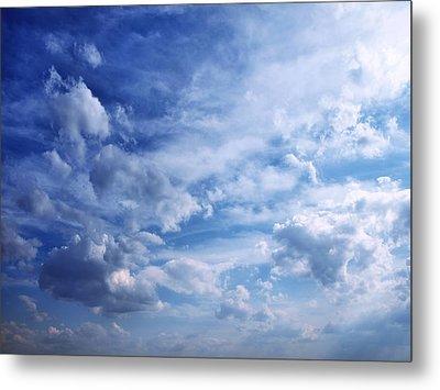 Cloudscape 5 Metal Print by Tom Druin