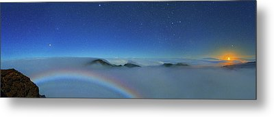 Cloudscape From Haleakala National Park Metal Print by Walter Pacholka, Astropics
