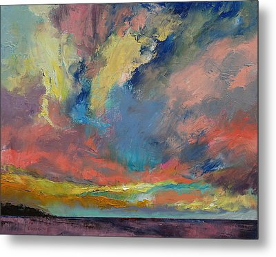 Cloudscape Metal Print by Michael Creese