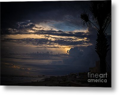 Cloudy Metal Print by Will Cardoso