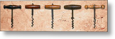 Clough Corkscrews Painting  Metal Print