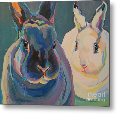 Clover And Lily Metal Print by Kimberly Santini