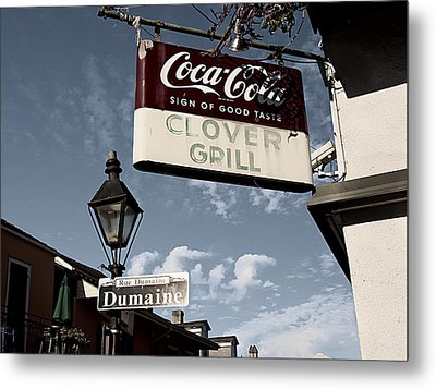 Clover Grill Metal Print