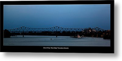 Clover H Cary Bridge Metal Print by David Lester